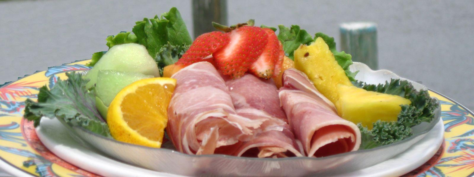 Ham Platter from the Smithfield Station