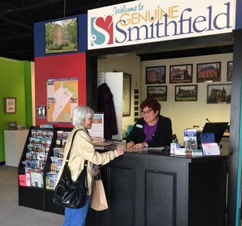 Ana at Visitor Center Feb 2018