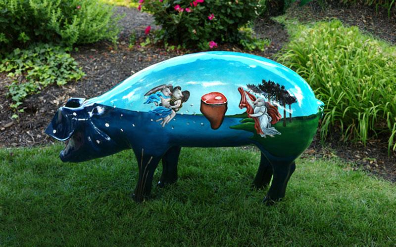 'Birth of Ham' by artist Mallory Jarrell
