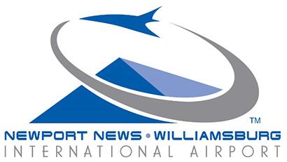 Newport News Williamsburg airport logo